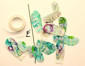Paper art, How to make paper flowers | ClothPaperScissors.com