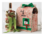 mixed media gift bags