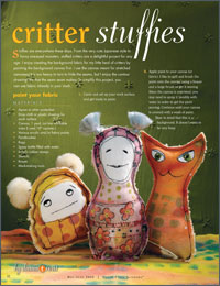 Stuffie Tutorial: Critter Stuffies