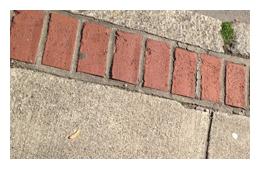 mark making inspiration from bricks