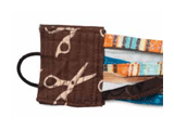 fabric art bracelet closure