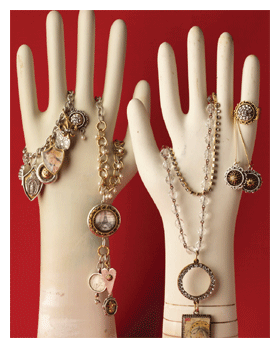 resin jewelry by Becky nunn