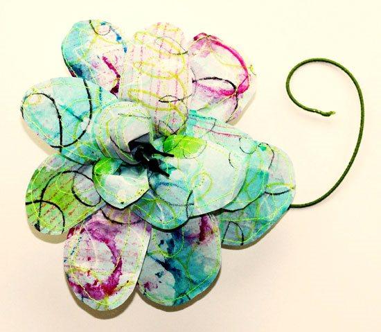 Paper art, Making paper flowers | ClothPaperScissors.com