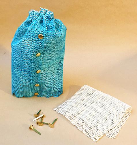 Recycled art skirt