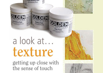 How To Use Gel Medium and Pastes: A Look at Texture, Up Close with Pastes and Mediums