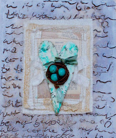 Mixed media art techniques with Ruth Rae
