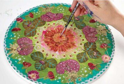 Creativity and inspiration | Carrie Schmitt, ClothPaperScissors.com