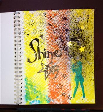 Mixed-media art ideas | Barbara Delaney, ClothPaperScissors.com