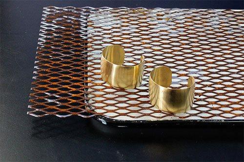 Metal patina techniques