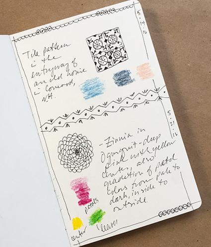 Sketchbook patterns
