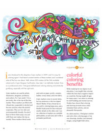 Hand Painted Letters and Marks: Making Magic with Markers