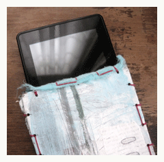 How to Make an eReader Cover with a Handmade Book-Binding Technique