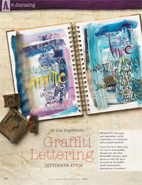 Hand Lettering Styles: Graffiti Lettering