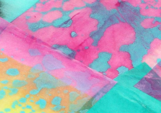Make a splash! Mixed-media art projects | ClothPaperScissors.com