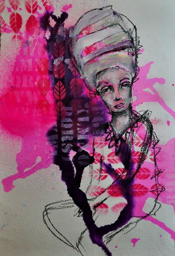 Mark making ideas for mixed-media artists