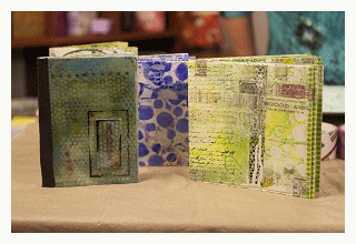 handmade art journal covers