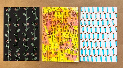 Patterning cards