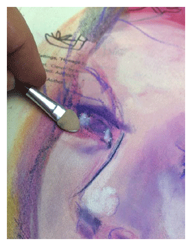 how to use pan pastels mixed media art supples jane davenport