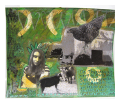 art journaling with gesso