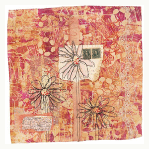 image transfer quilt by jane lafazio