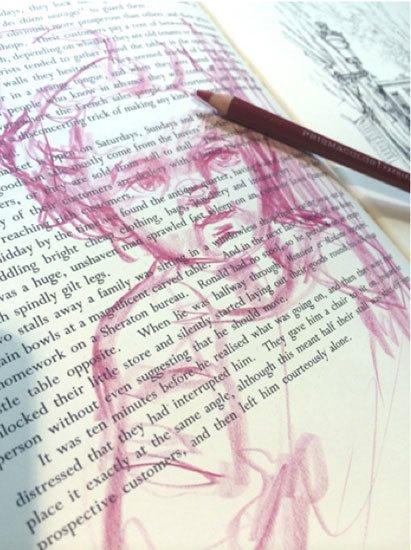 How to use mixed media supplies (colored pencil) | ClothPaperScissors.com