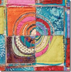 Beryl Taylors Mixed-media art quilt