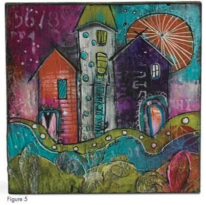 Mixed-media art ideas with Jodi Ohl | ClothPaperScissors.com