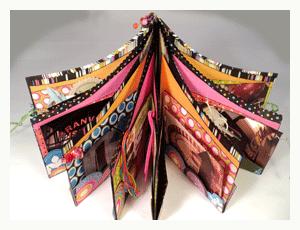 circus handmade book