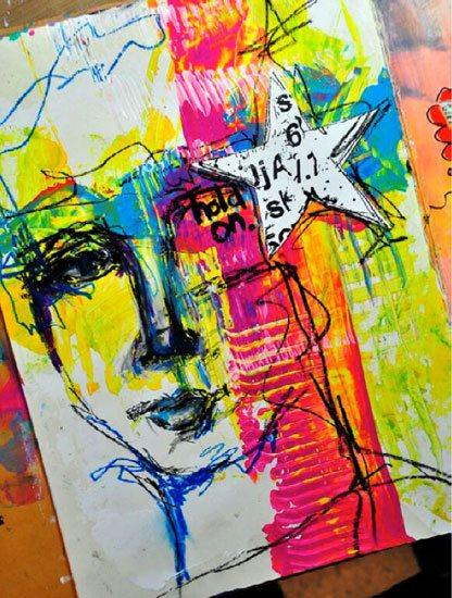 Art journal ideas with Dina Wakley | ClothPaperScissors.com