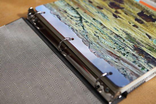 DIY 3-ring binders   ClothPaperScissors.com