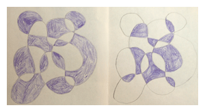 exercise for positive and negative shapes