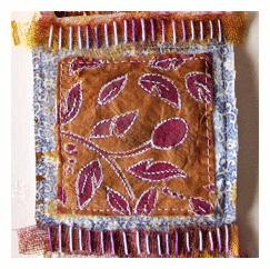 teabag fabric art beryl taylor