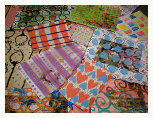mixed media collage backgrounds balzer