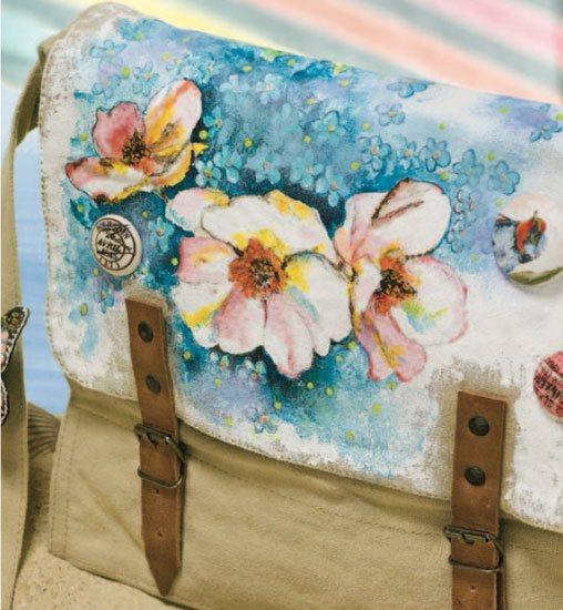 Mixed-media art techniques with Tracie Lyn Huskamp | ClothPaperScissors.com