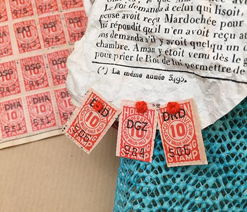 Trading stamp embellshments