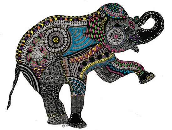 7266.zendoodle-elephant-by-Barbara-Simon-Sartain.jpg-550x0