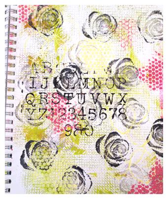 drive by art journal method