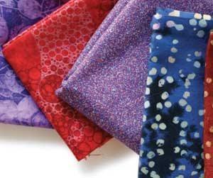 Collage ideas for fabric art | Susan Minier, ClothPaperScissors.com