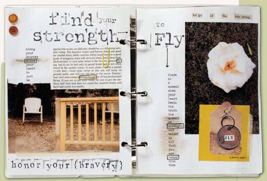 Art prompts for art journaling, Nichole Rae | ClothPaperScissors.com