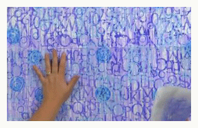 art stencil backgrounds mcknight holbrook