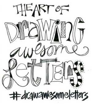 Hand lettering techniques with Joanne Sharpe | ClothPaperScissors.com