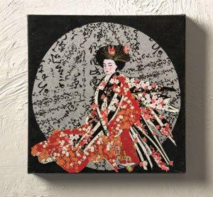 Japanese paper art Chigiri-e