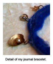 art journal bracelet