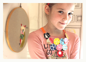 ruby wrigley creates handmade arts and crafts