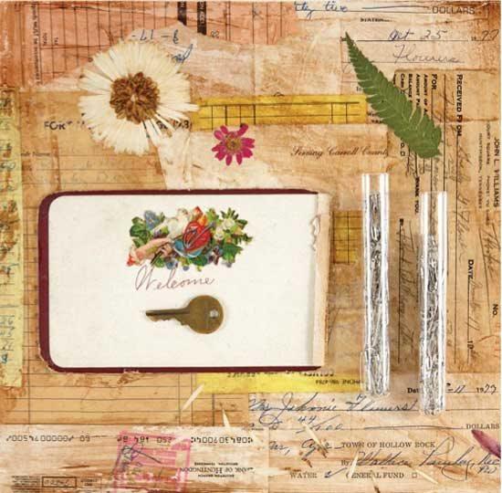 Mixed-media art tips with Kimberly Santiago | ClothPaperScissors.com