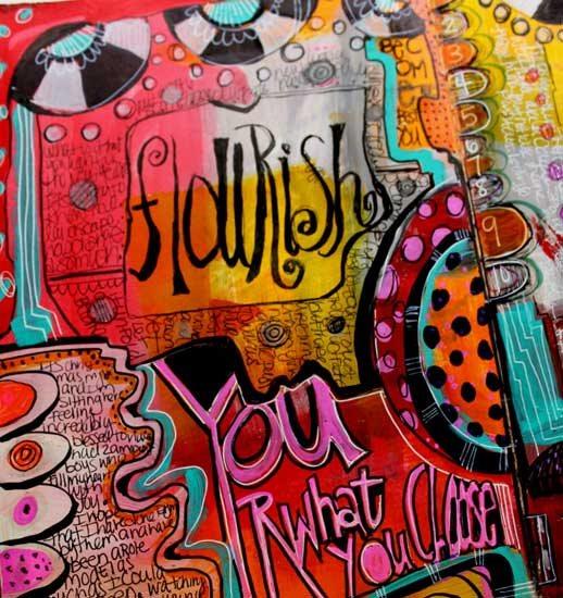 Art journal ideas with Jodi Ohl   ClothPaperScissors.com