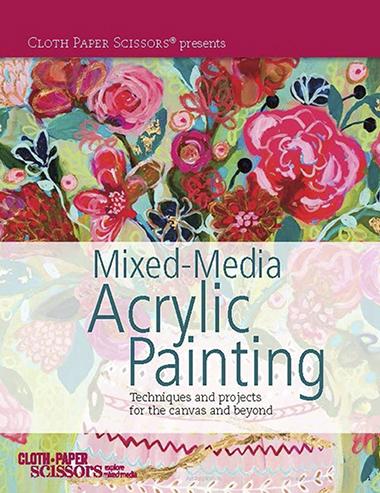Mixed-Media Acrylic Painting