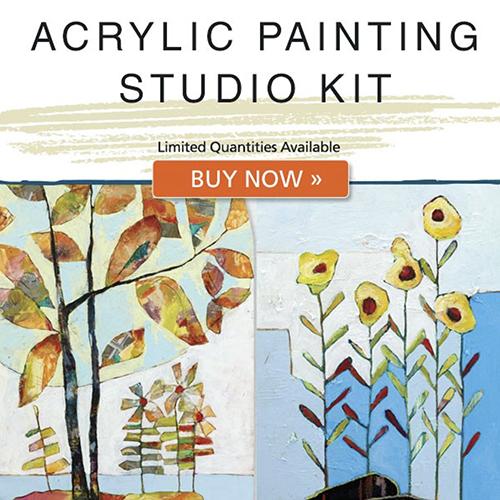Acrylic Painting Studio Kit