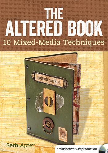 The Altered Book with Seth Apter video from ArtistsNetworkTV
