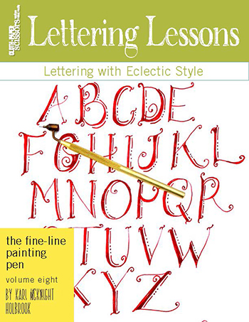 Cloth Paper Scissors Art Lesson Volume 8: The Fine-Line Painting Pen